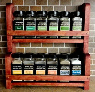 Countertop Spice Rack Plans : DIY Countertop Spice Rack Plans Download woodworking online ...