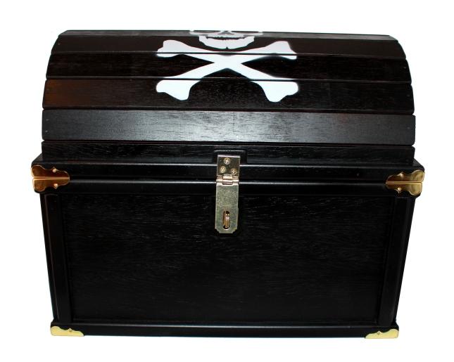 treasure chest toy box diy