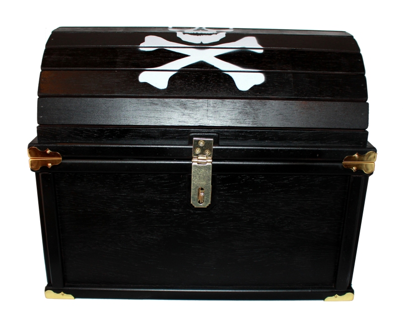 wood pirate chest plans