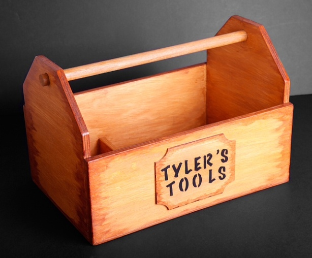 large wooden tool box plans